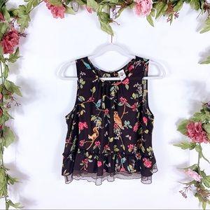 DIsney x LC   Snow White brown lace tank blouse